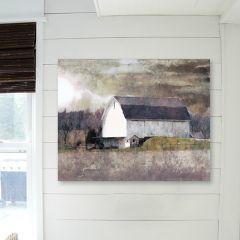 Impressionist Style Barn Wall Art