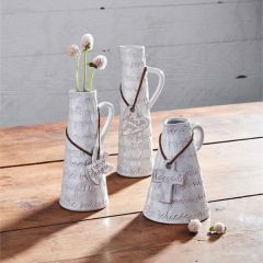 Inspirational Bud Vase with Accent Pendant