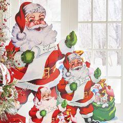 Jolly Santa Standing Cutout