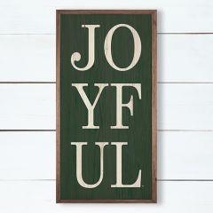 Joyful Holiday Wall Sign