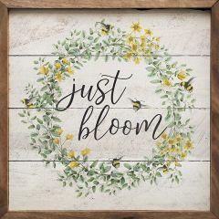 Just Bloom Wall Art