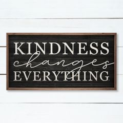Kindness Changes Everything Wall Art