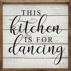 Kitchen Dancing Wall Sign