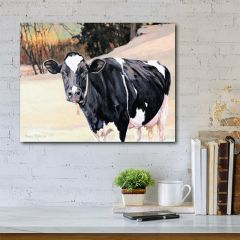 Landscape With Cow Wall Art