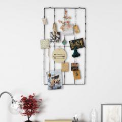 Large Metal Photo Wall Rack