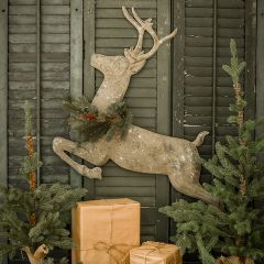 Leaping Deer Wall Decor