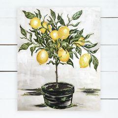 Lemon Topiary Wall Art