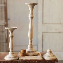 Limed Oak Candle Stand Bundle