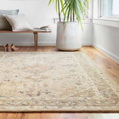 Loloi II Beatty Collection Beige/Ivory Rug