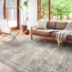 Loloi II Layla Collection Antique/Moss Rug
