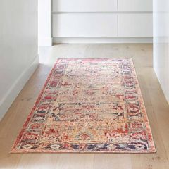Loloi II Nour Collection Lava/Navy Area Rug