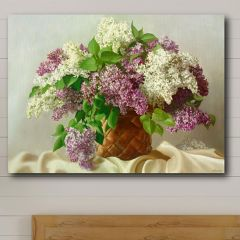 Lovely Lilac Canvas Wall Art