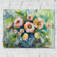 Lush Impressions Floral Wall Art