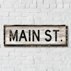 Main Street Wall Decor
