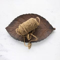 Mango Wood Leaf Shaped Tray
