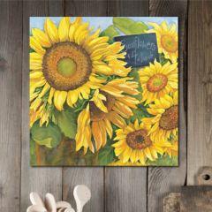 Market Sunflower Wall Art