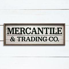Mercantile Wall Sign