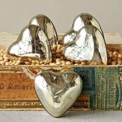 Mercury Glass Hearts Bundle