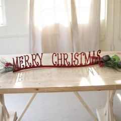 Merry Christmas Tabletop Accent
