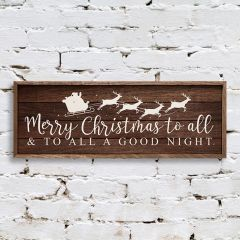 Merry Christmas to All Wall Art