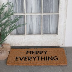 Merry Everything Coir Doormat