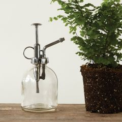 Metal and Glass Plant Mister Set of 2
