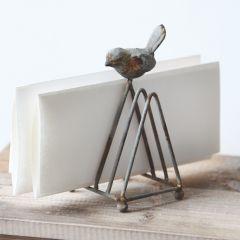 Songbird Metal Letter Holders Set of 2 Bundle