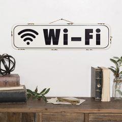 Metal Wi-Fi Sign