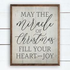 Miracle of Christmas Wall Art