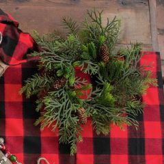 Mixed Pine Wreath