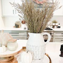 Modern Farmhouse Boho Pitcher Vase