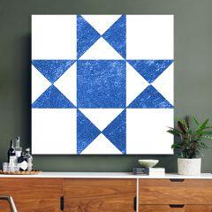 Modern Farmhouse Geometric Canvas Wall Art