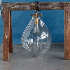 Modern Farmhouse Glass Pendant Light