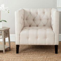 Modern Farmhouse Tufted Club Chair