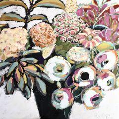 Modern Floral Bouquet Wall Art