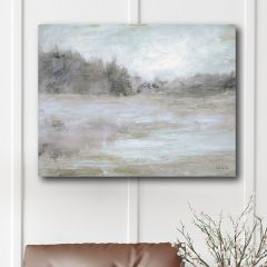 Muted Woods With Field Wall Art
