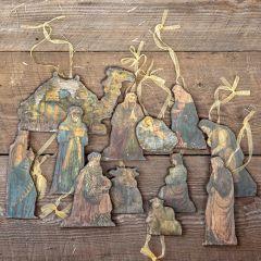 Nativity Ornaments, Set of 12