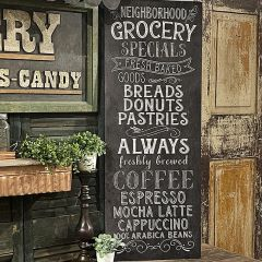 Neighborhood Grocery Large Wall Sign