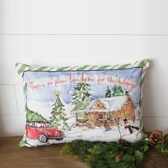 No Place Like Home Holiday Accent Pillow