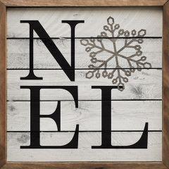 Noel Snowflake Wall Art