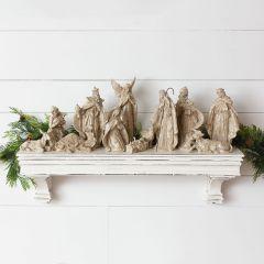 O Holy Night 12 Piece Nativity Set