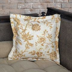 Old World Floral Pillow