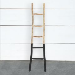 Paint Dipped Decorative Wood Ladder