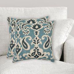 Paisley Print Accent Pillow, Set of 2