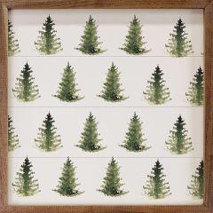 Pattern Trees Framed Wall Art