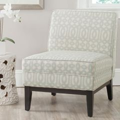 Patterned Modern Accent Chair