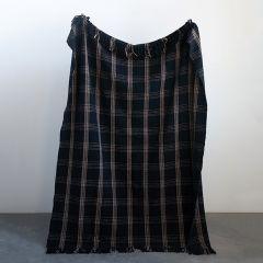 Plaid Fringed Cozy Throw Blanket