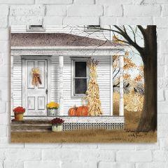 Porch Scene Autumn Wall Art