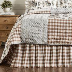 Portabella Buffalo Check Bed Skirt
