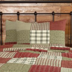 Prairie Farmhouse Patchwork Standard Sham Set of 2